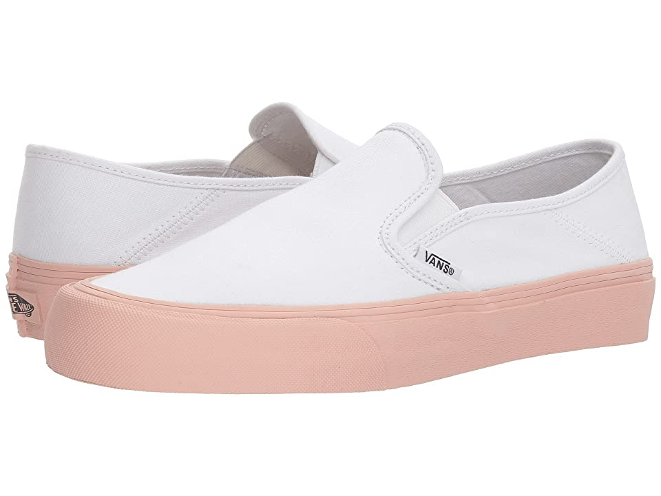 Vans Slip-On SF (Evening Sand/White) Skate Shoes