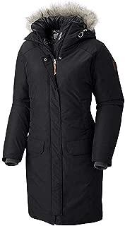 Columbia Women's Alpine Escape 550 Down Long Hooded Omni Heat Winter Jacket