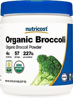 Nutricost Organic Broccoli Powder (8 OZ) - USDA Certified Organic, Non-GMO, Gluten Free