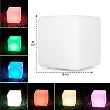 Gloworks LED Cube Light up Cube Decor Furniture