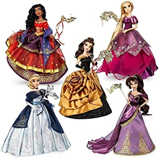 LE Disney Designer Dolls Midnight Masquerade Complete Set of 5 - New in Box