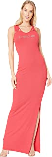 Women's Lacing Detail Maxi Dress