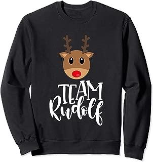 Best team rudolph sweatshirt Reviews