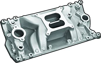 Professional Products 52028 Satin Crosswind Intake Manifold for Small Block Chevy