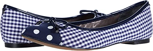 Navy/White Gingham