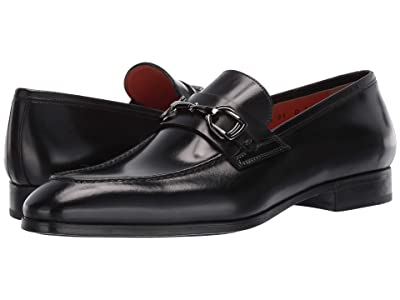 Santoni Indra Simon Bit Loafer (Black) Men