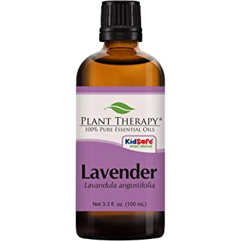 Plant Therapy Lavender Essential Oil 100% Pure, Undiluted, Natural Aromatherapy, Therapeutic Grade 100 mL (3.3 oz)