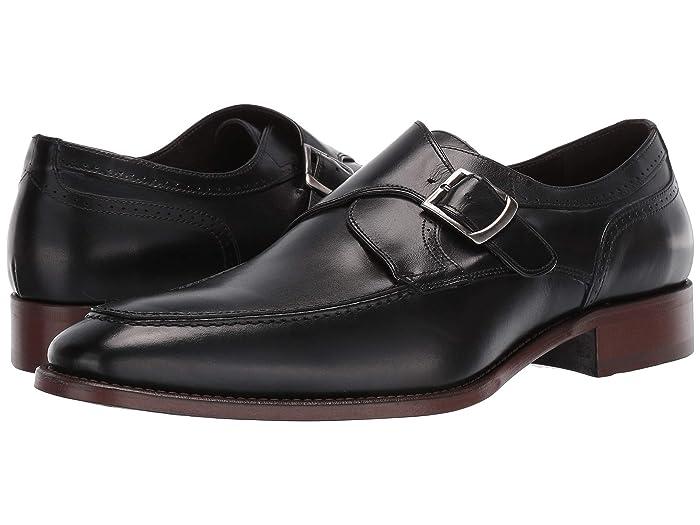 JandM Collection  Cormac Monk (Black) Mens Shoes