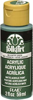 FolkArt Acrylic Paint in Assorted Colors (2 oz), 406, Hunter Green