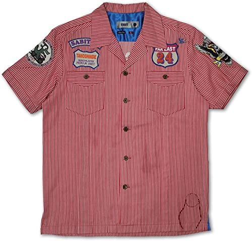 Sabit Work Shirt rouge