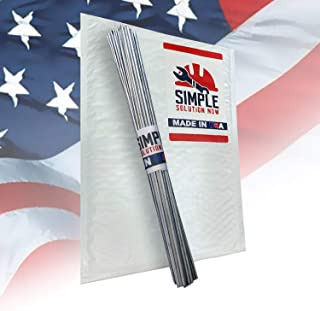 Simple Welding Rods USA Made - From Simple Solution Now - Aluminum Brazing/Welding Rods - Make Your Repair Stronger Than The Parent Metal Every Time - 10 Rods