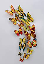 3D Butterfly Yellow
