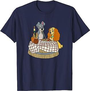 Disney Lady and Tramp Bella Notte Spaghetti T-Shirt