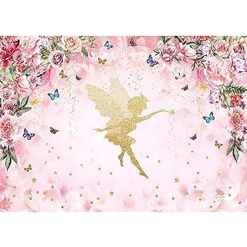 Amazon.com : Allenjoy 7x5ft Fairy Princess Backdrop for ...