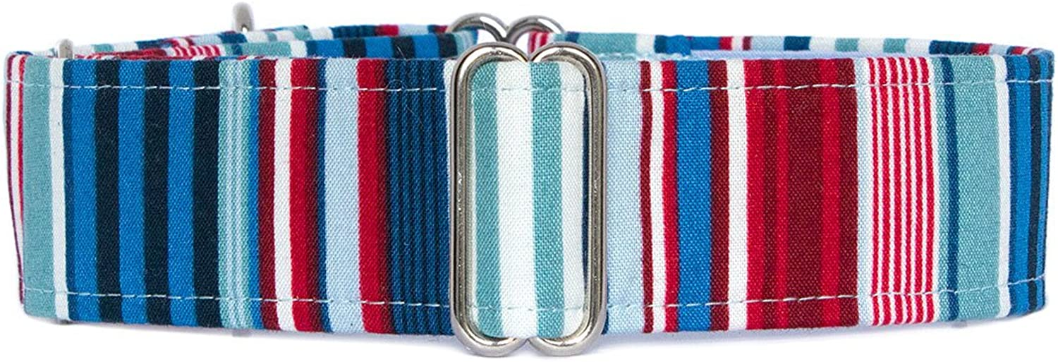 Noddy & Sweets Martingale Collar 1.5  Width [Cromer]  Large