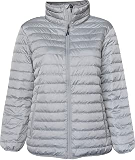 SportCaster Womens Plus Size Packable Down Jacket