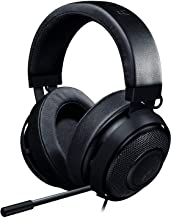 Razer Kraken Pro V2 - Oval Ear Cushions - Analog Gaming Headset for PC, Xbox One, Playstation 4, and Nintendo Switch - Black
