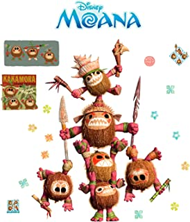FATHEAD Moana: Kakamora Warriors-Life-Size Officially Licensed Disney Removable Wall Decal