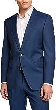 Hugo Boss Men's Slim Fit Super 120's Stretch Tailoring Blue Suit