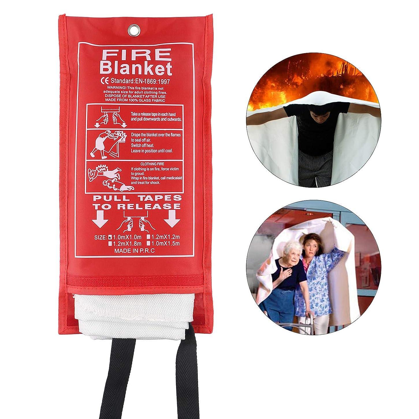 壁紙呼び出す産地防火ブランケット 緊急 サバイバル ファイバーグラス 保護ブランケット 難燃性 断熱 安全 暖炉カバー シェルター 溶接 ブランケット 車 キッチン 暖炉 グリル キャンプ
