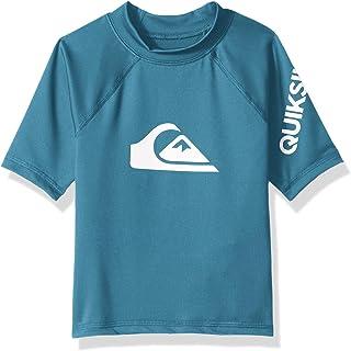 cdcb1a3ff3 Quiksilver Boy's All Time Short Sleeve UPF 50 Rashguard