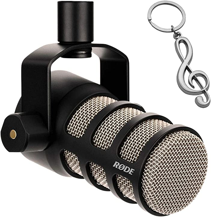 Microfono dinamico cardioide per podcast rode podmic rode microphones B07YL1GBTL