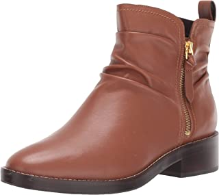 Cole Haan Women's Harrington Grand Slouch Bootie Ankle Boot, British tan Leather, 10 B US