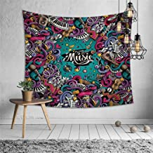 Vic Gray Mandala Tapestries Polyester Room Home Decoration Tablecloth Camping Mat Hippie Art Wall Hanging,100X70cm