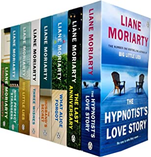 Liane Moriarty Collection 5 Books Set (What Alice Forgot, The Husband's Secret, Big Little Lies, Nine Perfect Strangers, T...