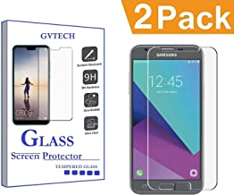 GVTECH for Samsung Galaxy J3 Luna Pro Screen Protector, Tempered Glass Screen Protector[0.3mm, 2.5D][Bubble-Free][9H Hardness][Easy Installation][HD Clear] for Samsung Galaxy J3 Luna Pro(2 Pack)