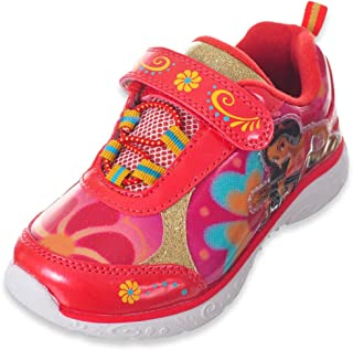 Channel Toddler/Little Girl's Elena of Avalor Light Up Sneakers Shoes