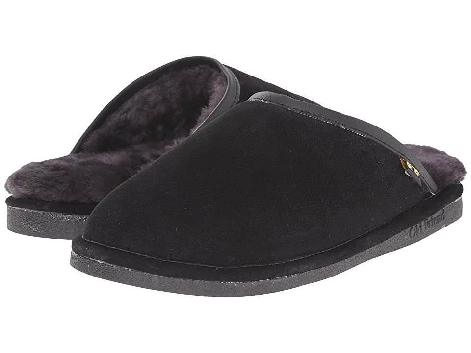 Image of Old Friend Scuff (Black) Men's Slippers