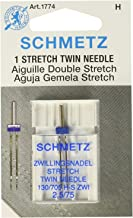 twin needle for knits