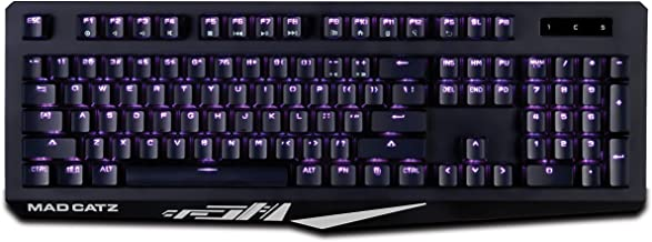 THE AUTHENTIC S.T.R.I.K.E. 4 GAMING KEYBOARD-Black