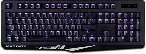 Mad Catz The Authentic S.T.R.I.K.E. 4 Mechanical Gaming Keyboard