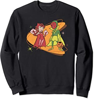 Marvel WandaVision Scarlet Witch & Vision Retro 50s Sweatshirt