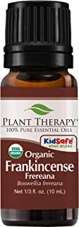 Plant Therapy Frankincense Frereana Organic Essential Oil 100% Pure, USDA Certified Organic, Undiluted, Natural Aromatherapy, Therapeutic Grade 10 mL (1/3 oz)