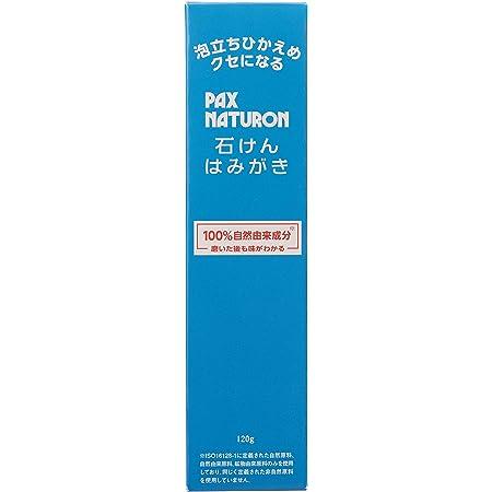 PAX NATURON(パックスナチュロン) 石けんはみがき 120g 120グラム (x 1)