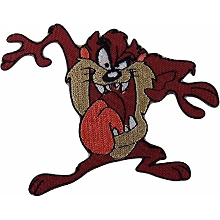Tactical Looney Tune Patches Shot Show taz Tasmanian devil morale patch