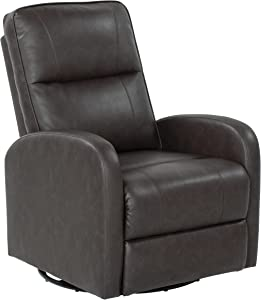 THOMAS PAYNE Swivel Pushback Recliner for 5th Wheel RVs, Travel Trailers and Motorhomes