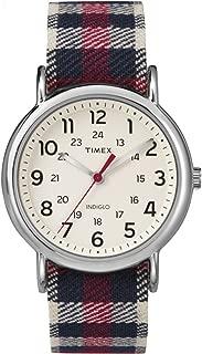 Timex Unisex TW2P89600 Weekender Analog Display Quartz Red Watch