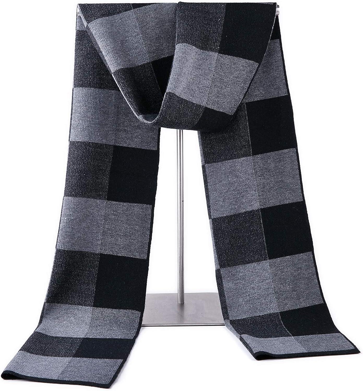 Taylormia Herren Schal Baumwolle Wolle Mischung Warm Weiche Winter Schal Premium