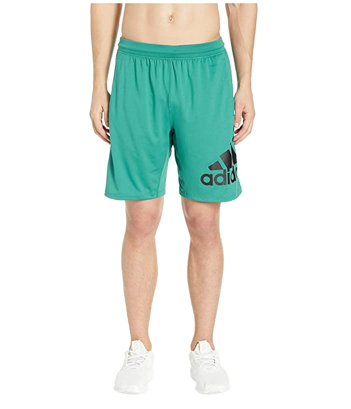 adidas 4KRFT 9 Badge of Sport Shorts (Active Green) Men