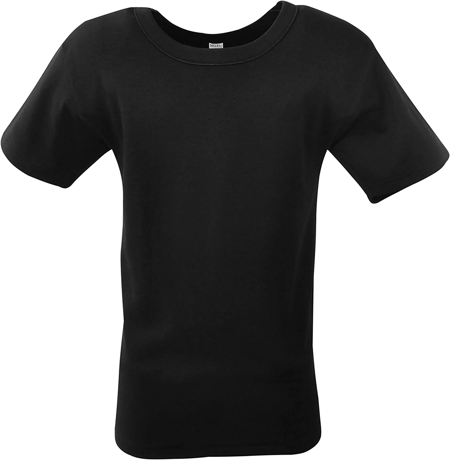 MaRe Premium Quality 100% Brushed Cotton/Fleece Men's Crew Neck T-Shirt. Proudly Made in Italy.