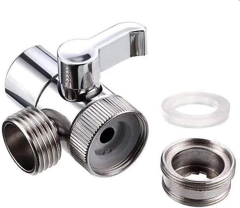 LQHZ Valve Switch Faucet Adapter Kitchen Sink Splitter Diverter