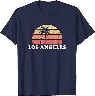 Los Angeles LA CA Vintage T Shirt Retro 70s Throwback Tee