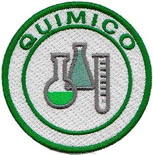 Patch Bordado - Simbolo Quimica Químico AP00015-461 Termocolante Para Aplicar