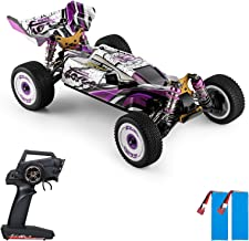 GoolRC WLtoys 124019 RC Car, 1/12 Scale 2.4GHz Remote Control Car, 4WD 60km/h High Speed Racing Car, Off-Road Buggy Drift ...