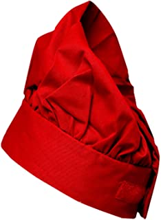 Chef Hat LUCKY DOG Traditional Chef Hat Chef Works Cooking Hat One size