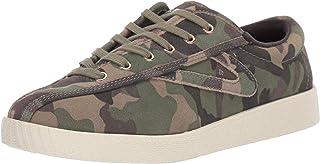 حذاء رياضي للنساء NYLITE29PLUS من Tretorn، زيتوني متعدد الألوان، 5. 5